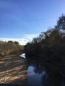 This is a photo of Mullberry Creek near where Dixie used to be. It is mentioned in several articles.
